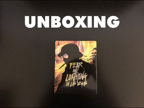 Fear and Loathing in Las Vegas - Blu-Ray Steelbook Unboxing