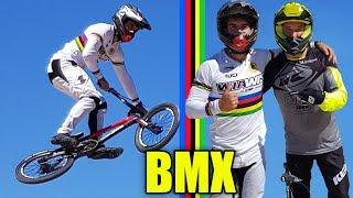I CHALLENGE THE WORLD CHAMPION OF BMX RACE