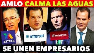 MAGNATES ENTIENDEN MENSAJE DE AMLO Y SE UNEN A EL!!