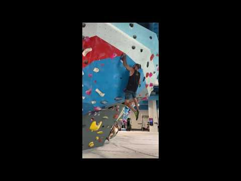First Ascent: Block 37 - V2 - Campusing