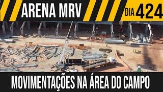 ARENA MRV | 5/6 MOVIMENTAÇÕES NA ÁREA DO CAMPO | 18/06/2021