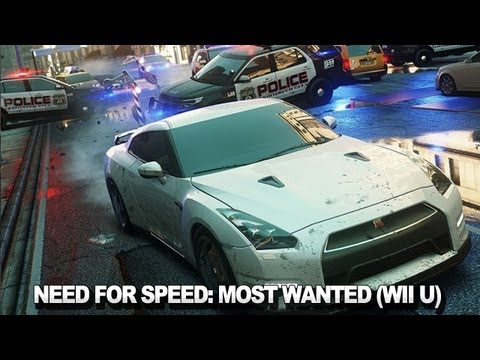 Need for Speed: Most Wanted se ukazuje ve Wii U záběrech