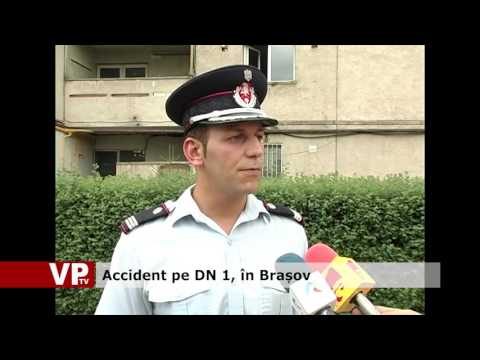 Accident pe DN 1, în Brașov