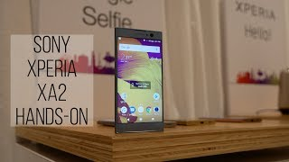 Sony Xperia XA2 hands-on