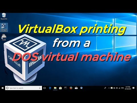 How to print from vDosPlus (or vDos / DOSBox) - смотреть
