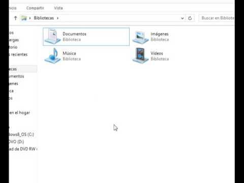 como hacer una carpeta en documentos en la computadora