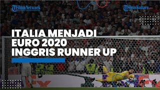 Gol Cepat Luke Shaw Sia-sia, Timnas Italia Juara Euro 2020, Inggris Menangis di Stadion Wembley