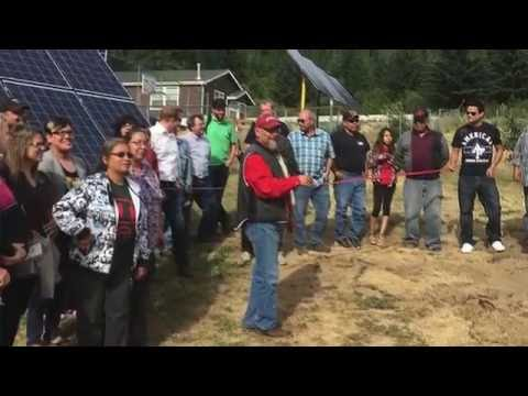 Kanaka Bar Indian Band completes new solar project