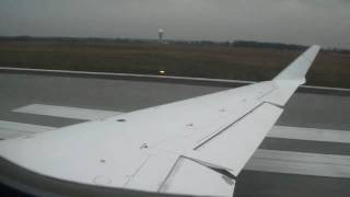preview picture of video 'Canadair CRJ700 Lufthansa Regional D-ACPO - take off from Katowice Airport [EPKT/KTW]'