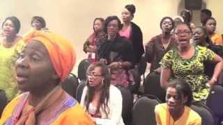 Chorale Femmes Affranchies - Louange 10ème conférence  (Pt. 3)