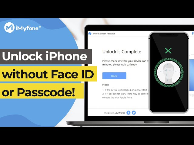 How to Unlock Your iPhone without Face ID or Passcode