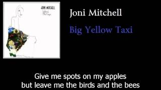 Joni Mitchell - Big Yellow Taxi - Original - w lyrics