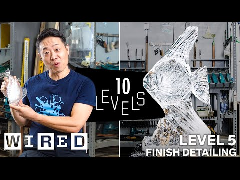 Ice Sculpting from the Basics to Advanced