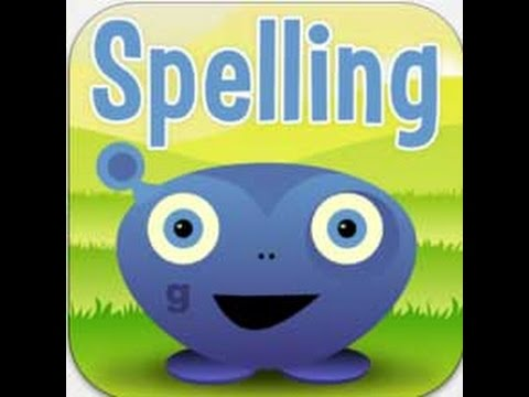 Screenshot of video: Squeebles Spelling App