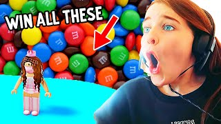 DOUBLE OR NOTHING - RISKING all our M&Ms in TOWER OF HELL Gaming w/ The Norris Nuts