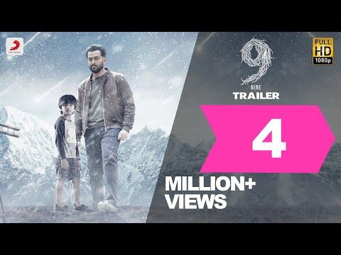 9 Official Trailer - Prithviraj Sukumaran, Mamta, Wamiqa