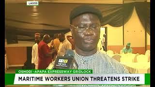 Oshodi-Apapa highway:  Maritime workers Union threatens strike