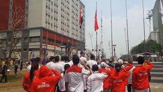 Siap Berlaga di Asian Games, Kontingen Indonesia Mulai Tempati Wisma Atlet