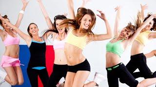 Крутая Зумба фитнес видео уроки для похудения! Смотреть всем!