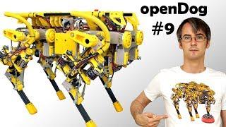 openDog Dog Robot #9 | Kinematic Model XYZ | James Bruton