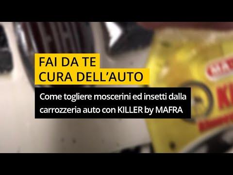 Come togliere moscerini, resina e insetti dalla carrozzeria auto con Killer di MA-FRA