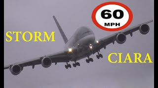 Winter Storm Ciara -- 10 Go-arounds in 2 hours at London Heathrow