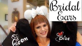 MAGICAL BRIDAL EARS | TINK EARS | DISNEY MOON SHIRTS
