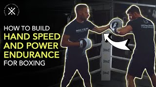 Video: Boxing Mittwork Drill For Endurance, Speed, Power & Reflexes