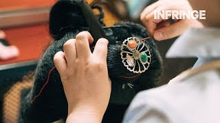A Rare Look At The Creation Of A Traditional Hairstyle Of A Geiko-in-training