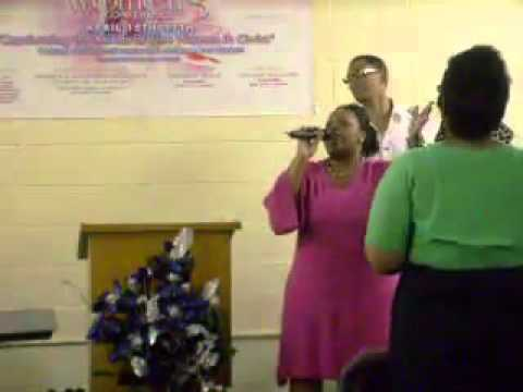 Lady Bailey Singing Thank you LORD....