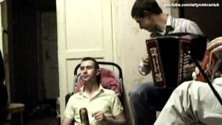 Кино (Виктор Цой) - Стук (кавер дуэт пародия под гармонь)