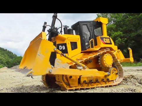 RC construction site! RC tipper trailer! RC bulldozer! RC wheel loader ! Cool Toys