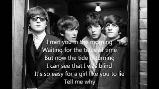 What Goes On by The Beatles (cover) with lyrics
