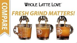 Espresso Shots Compared: Fresh Ground vs. Pre-ground Coffee