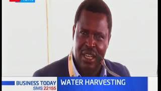 Tharaka Nithi Governor Muthomi Njuki advices farmers to harvest rain water