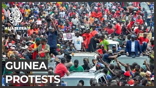 Guinea election: More protests planned against a Conde third term