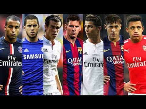 Best Football  Skills  Tricks 2015 ●ft. Messi,Ronaldo,Sanchez,Bale,Hazard,Neymar,lucas AND MORE