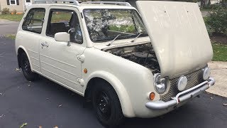 Nissan PAO Full Undercarriage with Car on a Lift
