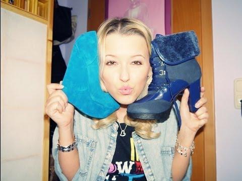 Blau blau blau sind meine neuen Schuhe