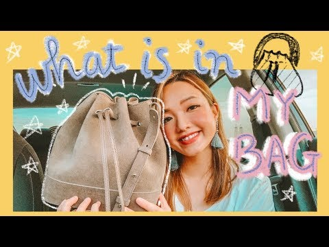 ✨👜 CHO MẤY CHẾ COI CÓ GÌ TRONG TÚI CỦA TUI 🤩 | What's In My Bag 2019 🌻 | Teddy Blake | Diane Le