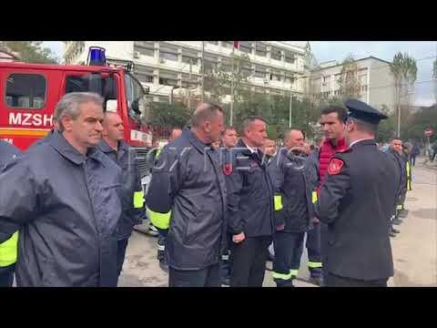Erion Veliaj nderon zjarrfikesin Arben Cara, i rikthehet detyres, humbi 6 pjestare te familjes