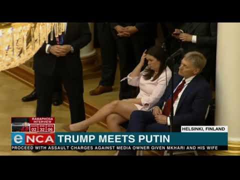 Donald Trump meets Russian President Vladimir Putin Originally Published 2018 07 16 11 35 45