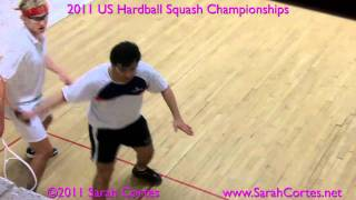 2011 US Hardball Squash Semi- Zaman Khan V Pearson Pt1 Video