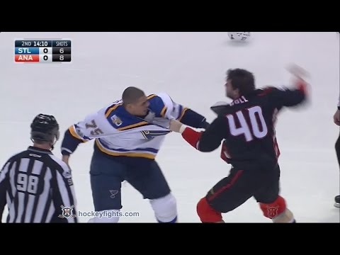 Jared Boll vs. Ryan Reaves