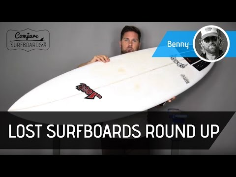 Lost Surfboards Round Up Surfboard Review – Futures Fins EA Quads no.154 – Compare Surfboards