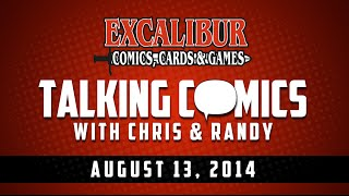 Talking Comics for 08.13.14 - Transformers Primacy #1, Godzilla Cataclysm #1, Dark Ages #1 & More!