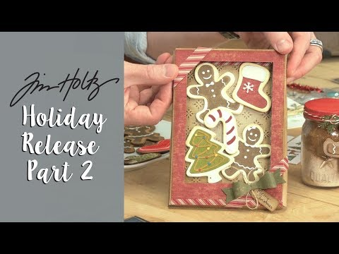 'Tis The Season with Tim Holtz's Designs! | Sizzix