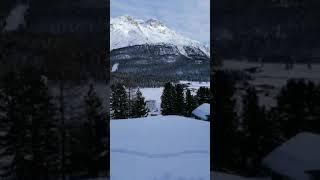 Швейцарские Альпы. Зимний отдых туризм путешествие. Swiss Alps