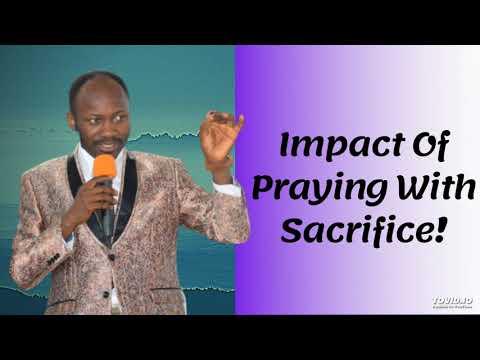 #Apostle Johnson Suleman(Prof) #Impact Of Praying With Sacrifice