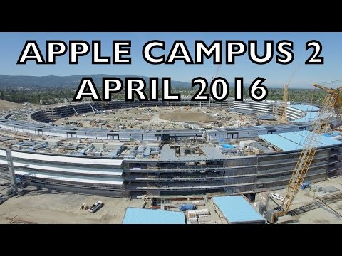 New Drone Footage Shows The Progress Of Apple's Pile Of Mud